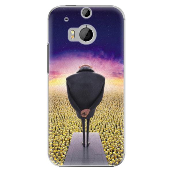 Plastové pouzdro iSaprio - Gru - HTC One M8