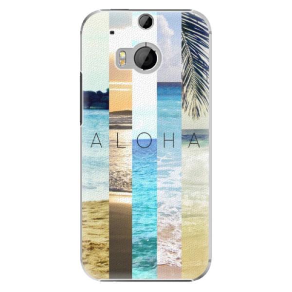 Plastové pouzdro iSaprio - Aloha 02 - HTC One M8