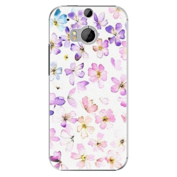 Plastové pouzdro iSaprio - Wildflowers - HTC One M8