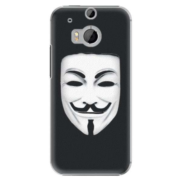 Plastové pouzdro iSaprio - Vendeta - HTC One M8