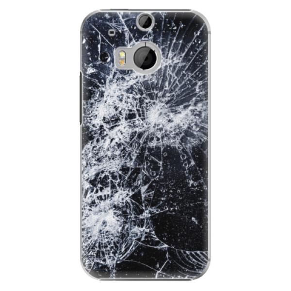 Plastové pouzdro iSaprio - Cracked - HTC One M8
