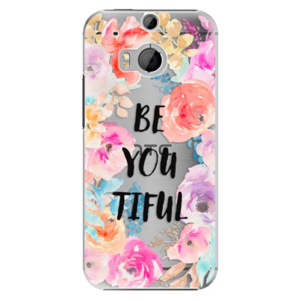 Plastové pouzdro iSaprio - BeYouTiful - HTC One M8