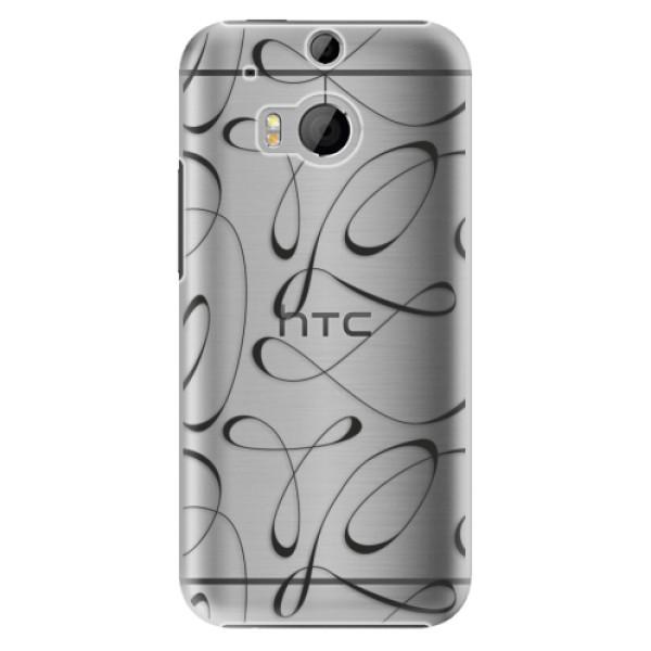 Plastové pouzdro iSaprio - Fancy - black - HTC One M8