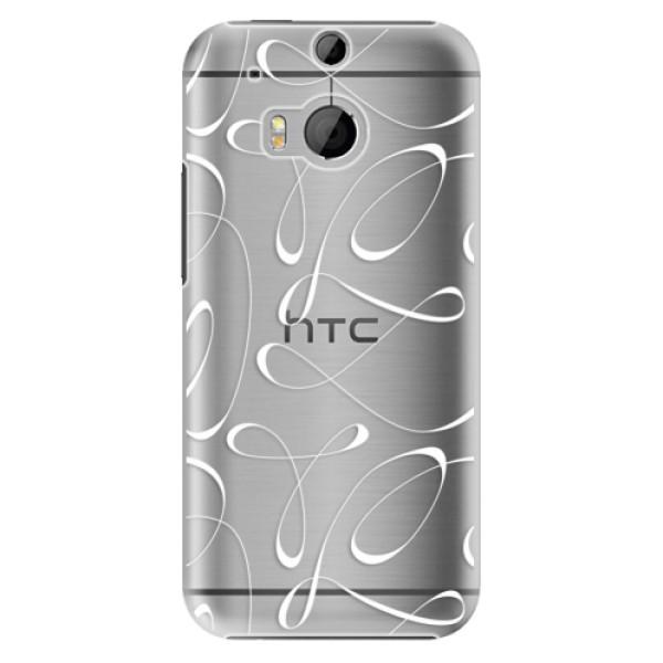 Plastové pouzdro iSaprio - Fancy - white - HTC One M8