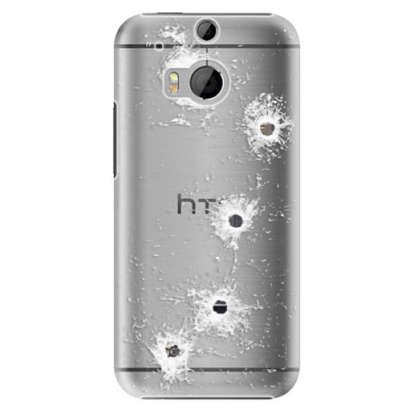 Plastové pouzdro iSaprio - Gunshots - HTC One M8