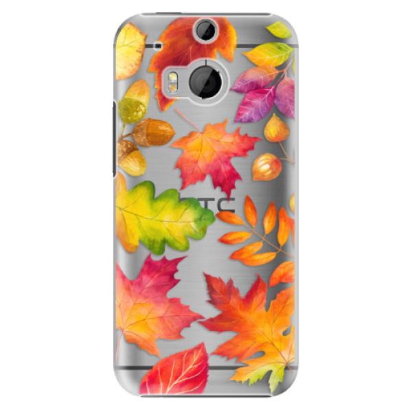 Plastové pouzdro iSaprio - Autumn Leaves 01 - HTC One M8