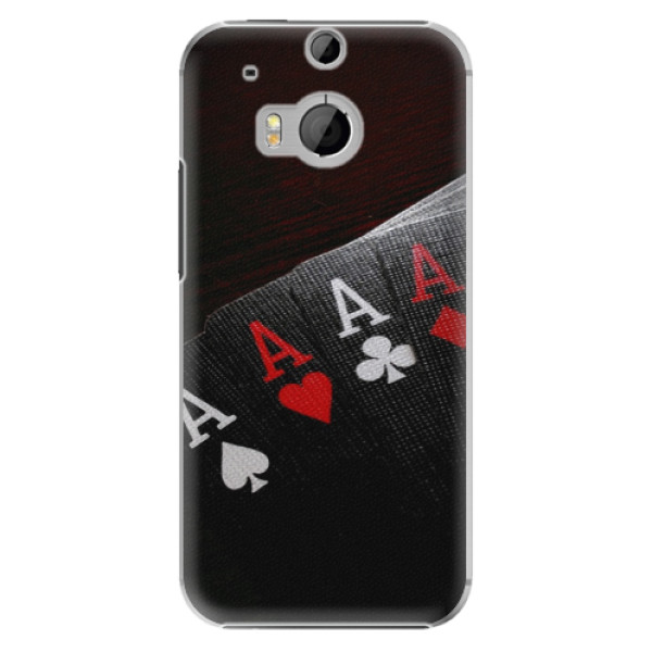 Plastové pouzdro iSaprio - Poker - HTC One M8