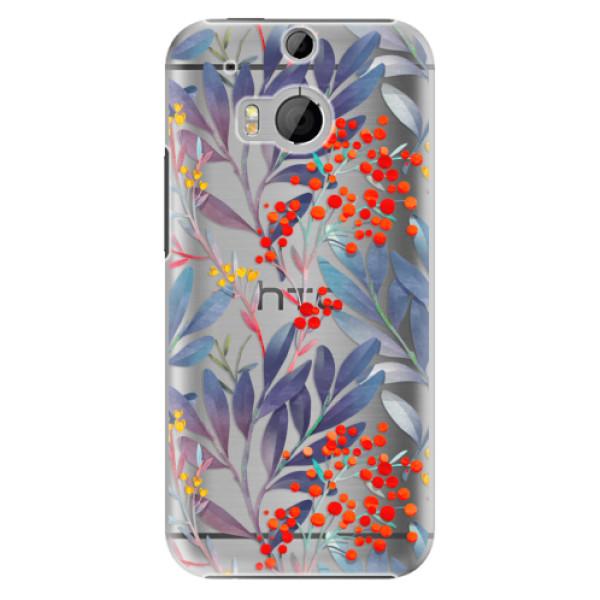 Plastové pouzdro iSaprio - Rowanberry - HTC One M8