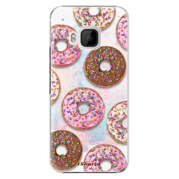 Plastové pouzdro iSaprio - Donuts 11 - HTC One M9
