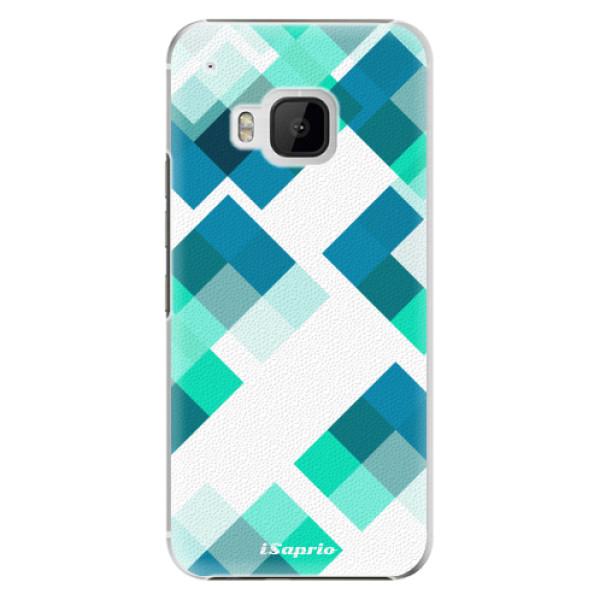 Plastové pouzdro iSaprio - Abstract Squares 11 - HTC One M9