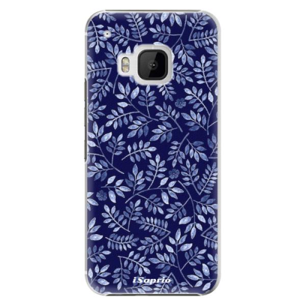 Plastové pouzdro iSaprio - Blue Leaves 05 - HTC One M9