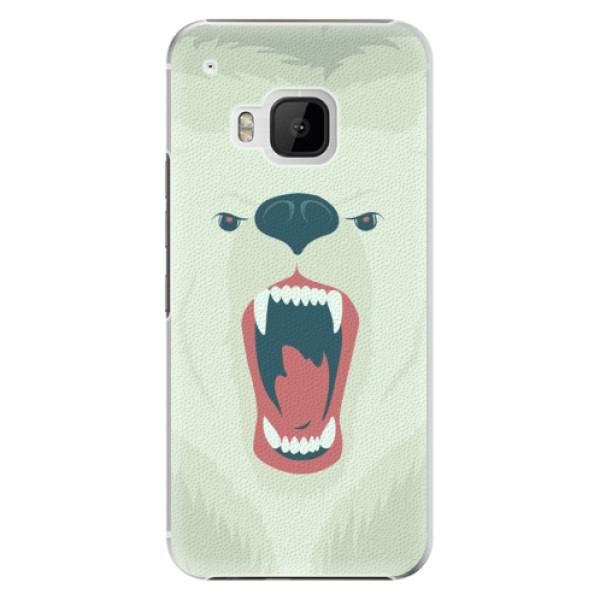 Plastové pouzdro iSaprio - Angry Bear - HTC One M9