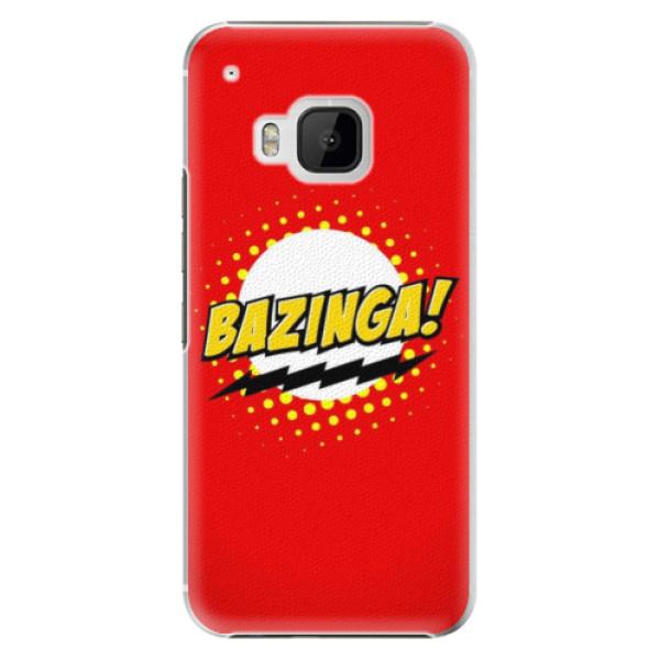 Levně Plastové pouzdro iSaprio - Bazinga 01 - HTC One M9