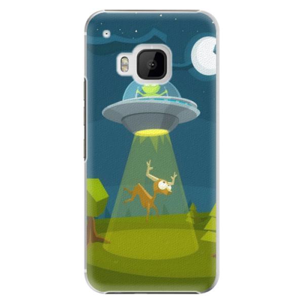 Plastové pouzdro iSaprio - Alien 01 - HTC One M9