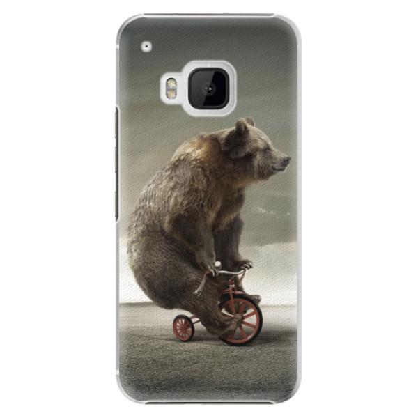 Plastové pouzdro iSaprio - Bear 01 - HTC One M9
