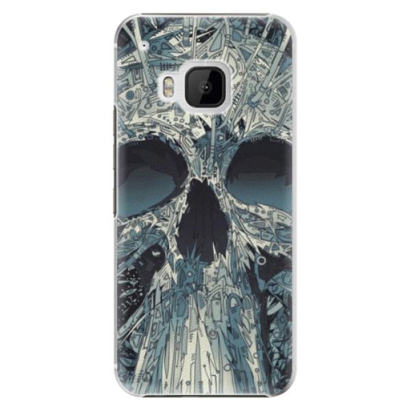 Plastové pouzdro iSaprio - Abstract Skull - HTC One M9