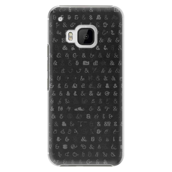 Plastové pouzdro iSaprio - Ampersand 01 - HTC One M9