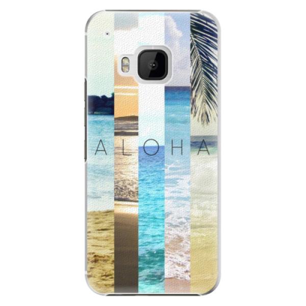 Plastové pouzdro iSaprio - Aloha 02 - HTC One M9