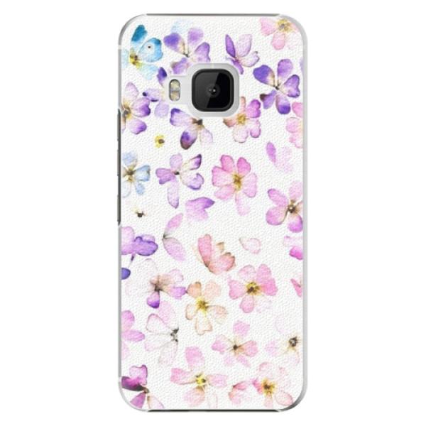 Plastové pouzdro iSaprio - Wildflowers - HTC One M9