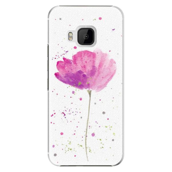 Plastové pouzdro iSaprio - Poppies - HTC One M9