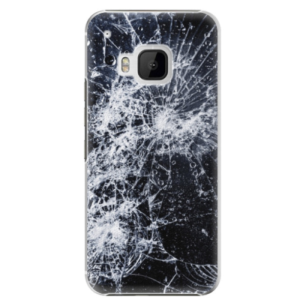 Plastové pouzdro iSaprio - Cracked - HTC One M9
