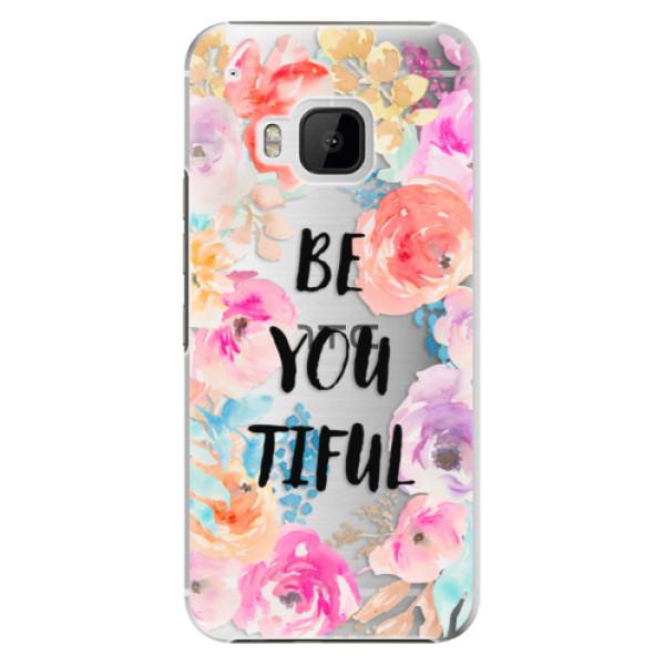 Plastové pouzdro iSaprio - BeYouTiful - HTC One M9