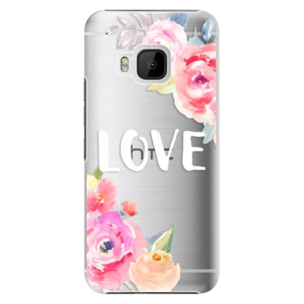 Plastové pouzdro iSaprio - Love - HTC One M9