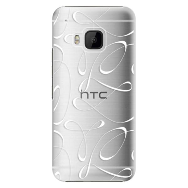 Plastové pouzdro iSaprio - Fancy - white - HTC One M9
