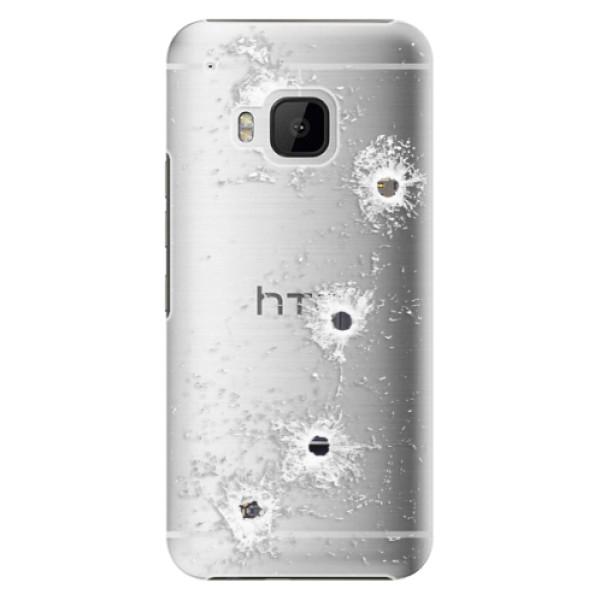 Plastové pouzdro iSaprio - Gunshots - HTC One M9