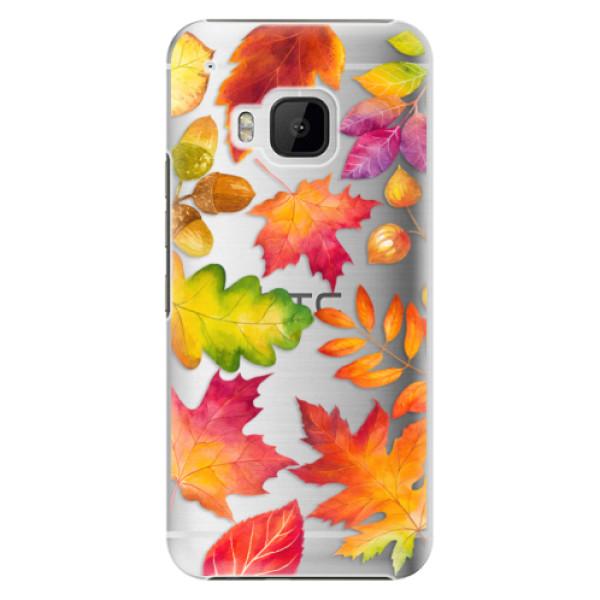 Plastové pouzdro iSaprio - Autumn Leaves 01 - HTC One M9