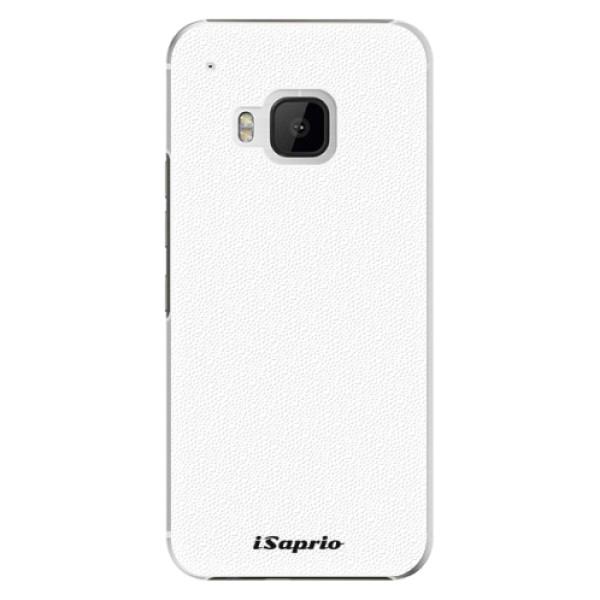 Plastové pouzdro iSaprio - 4Pure - bílý - HTC One M9
