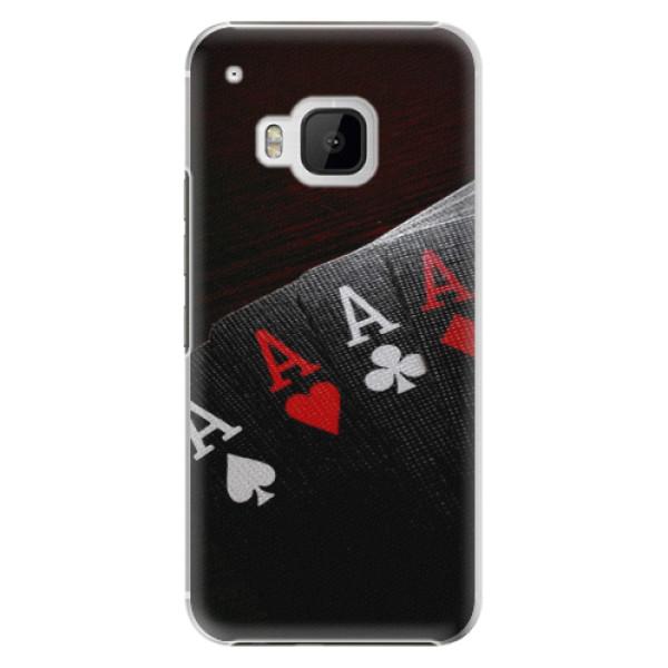Plastové pouzdro iSaprio - Poker - HTC One M9