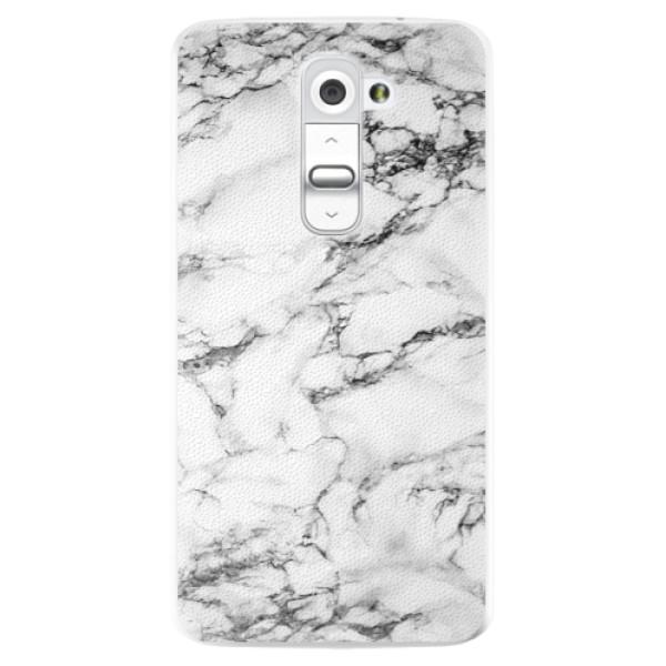 Plastové pouzdro iSaprio - White Marble 01 - LG G2 (D802B)