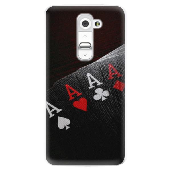 Plastové pouzdro iSaprio - Poker - LG G2 (D802B)