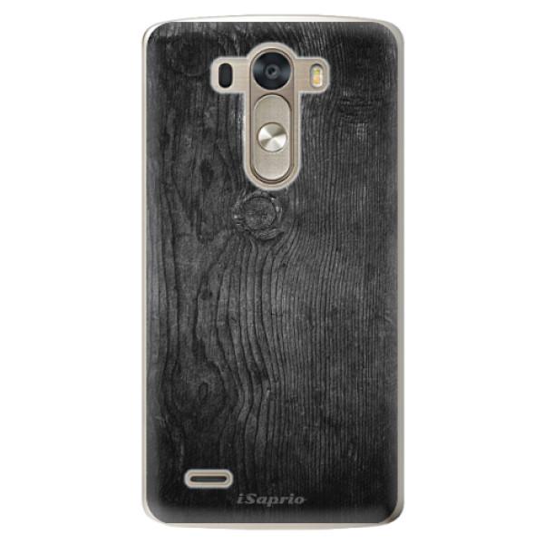 Plastové pouzdro iSaprio - Black Wood 13 - LG G3 (D855)
