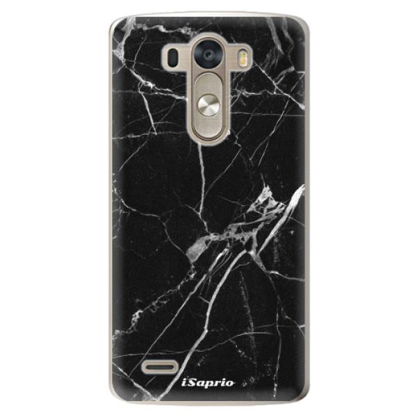 Plastové pouzdro iSaprio - Black Marble 18 - LG G3 (D855)
