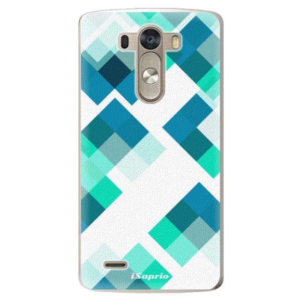 Plastové pouzdro iSaprio - Abstract Squares 11 - LG G3 (D855)