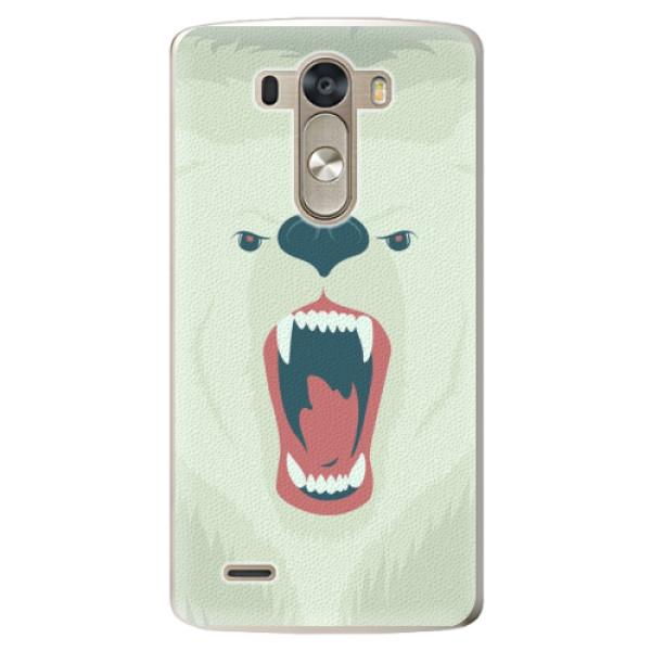 Plastové pouzdro iSaprio - Angry Bear - LG G3 (D855)