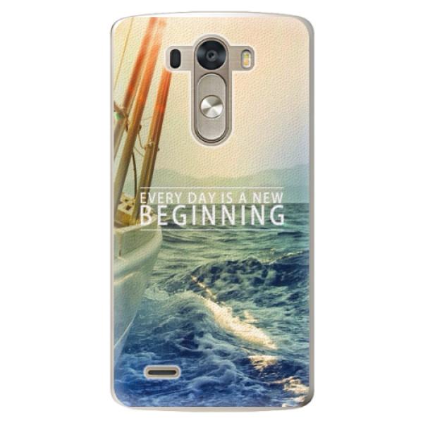 Plastové pouzdro iSaprio - Beginning - LG G3 (D855)