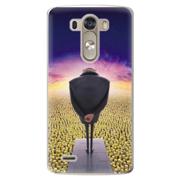 Plastové pouzdro iSaprio - Gru - LG G3 (D855)