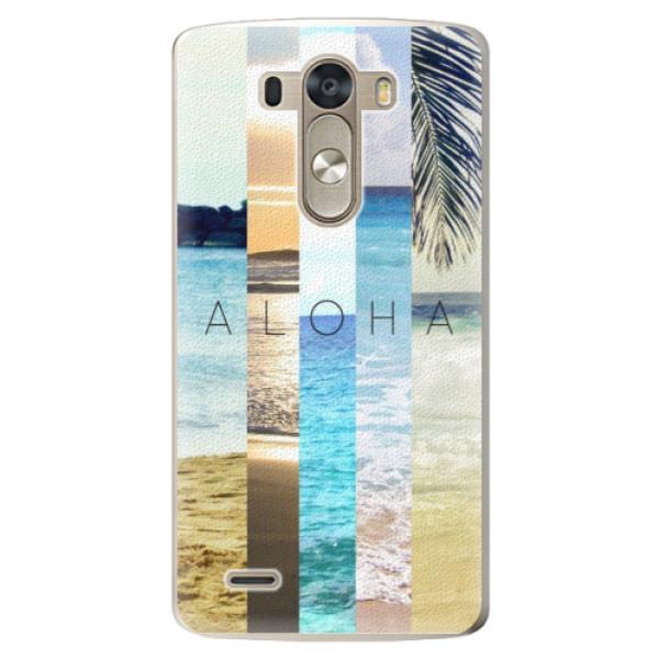 Plastové pouzdro iSaprio - Aloha 02 - LG G3 (D855)