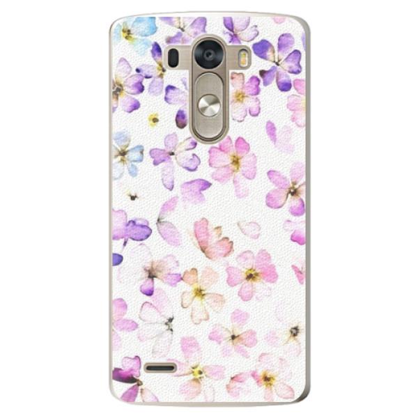 Plastové pouzdro iSaprio - Wildflowers - LG G3 (D855)