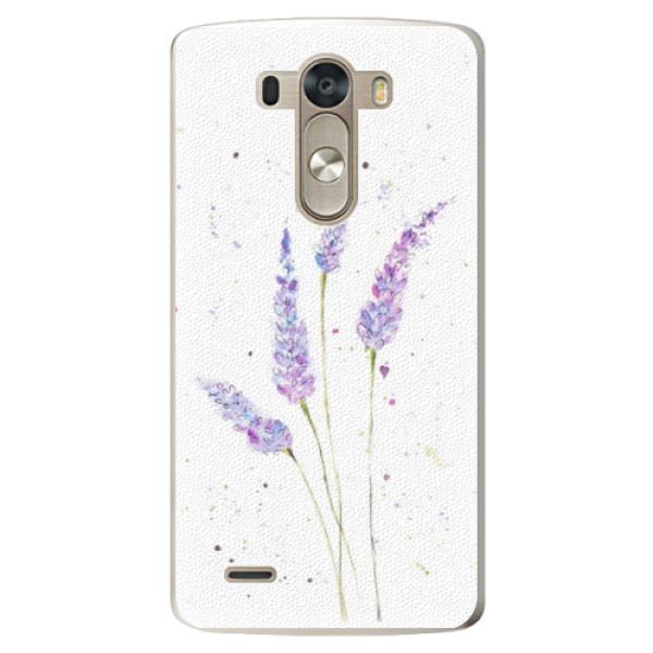 Plastové pouzdro iSaprio - Lavender - LG G3 (D855)