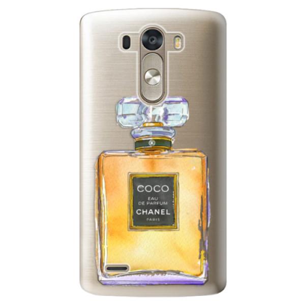 Plastové pouzdro iSaprio - Chanel Gold - LG G3 (D855)