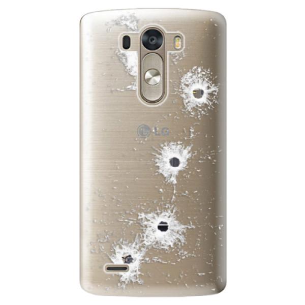 Plastové pouzdro iSaprio - Gunshots - LG G3 (D855)