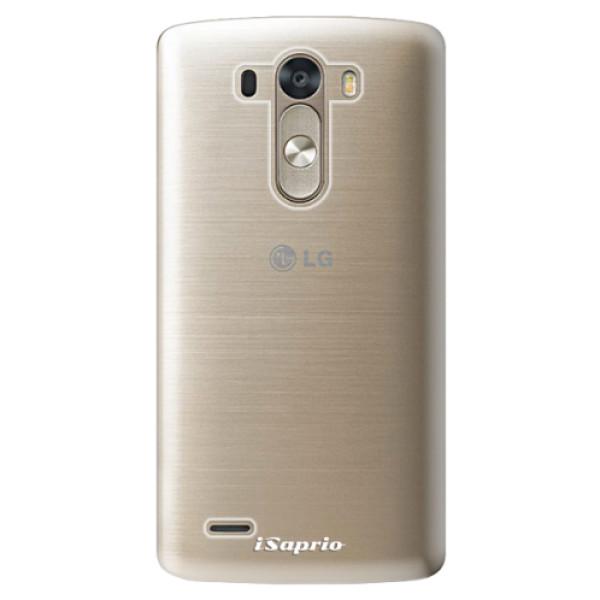 Plastové pouzdro iSaprio - 4Pure - mléčný bez potisku - LG G3 (D855)