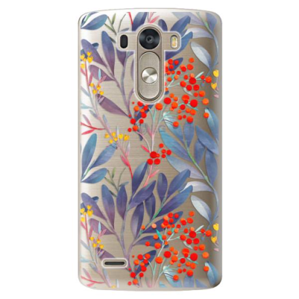 Plastové pouzdro iSaprio - Rowanberry - LG G3 (D855)