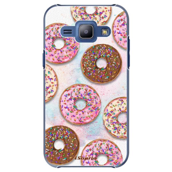 Plastové pouzdro iSaprio - Donuts 11 - Samsung Galaxy J1
