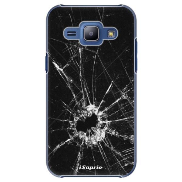 Plastové pouzdro iSaprio - Broken Glass 10 - Samsung Galaxy J1
