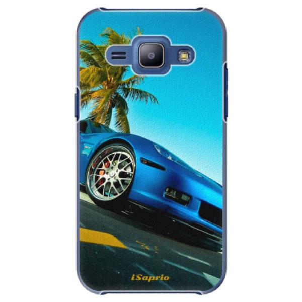 Plastové pouzdro iSaprio - Car 10 - Samsung Galaxy J1